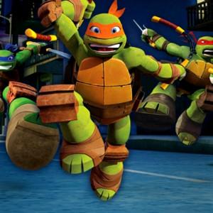 Teenage Mutant Ninja Turtles Skewer In The Sewer Play