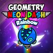 Geometry Neon Dash Rainbo