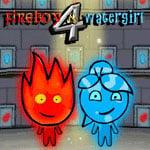 Jogo Watergirl and fireboy 4