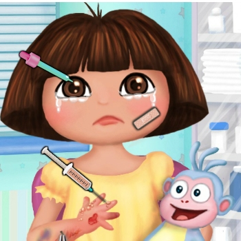 Baby Dora Hand Doctor Play Game Online Kiz10 Com Kiz