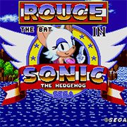 play Rouge in Sonic 1