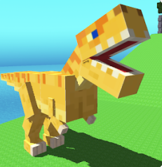 play Blocky Dino Park: Raptor Attack