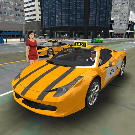 play Free New York Taxi Driver 3D Sim