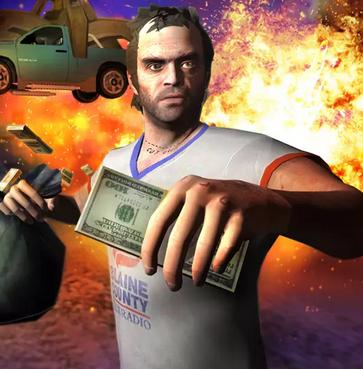play TREVOR 2: Moneytalks Mad City