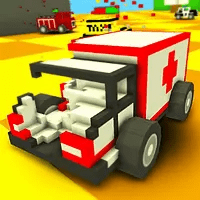 play Blocky Demolition Derby