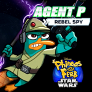 Phineas And Ferb Star Wars Agent P Rebel Spy Play Game