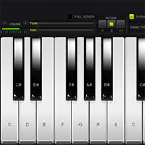 Real Piano Online Play Game online Kiz10 com - KIZ