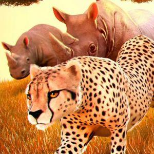 Wild Animal Zoo City Simulator Play Game online Kiz10 com - KIZ