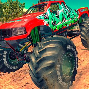 Monster 4X4 Offroad Jeep Stunt Racing 2019 Play Game online