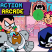 play Teen Titans Action Arcade