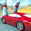 play Crazy Car Crash Stunts Bowling Edition